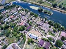 Mila 23 Danube Delta Romania. Traditional fisherman village in D. Anube Delta Stock Image