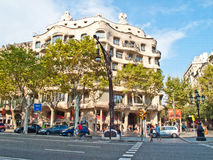 Mila House, Barcelona Royalty Free Stock Image