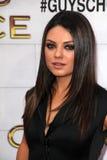 Mila Kunis al punto TV 2012   Fotografia Stock