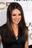 Mila Kunis al punto TV 2012   Fotografie Stock