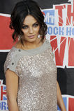 Mila Kunis on the red carpet. Mila Kunis at the VH1 Rock Honors The Who at Pauley Pavilion at UCLA in Westwood CA on July 12 2008 Stock Images