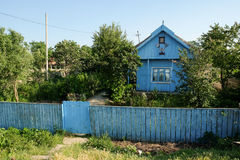 Mila 23, Romania, June 2017: traditional house in Mila 23 fisher. Mans village in Danube Delta Royalty Free Stock Photos