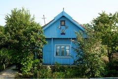 Mila 23, Rumunia, Czerwiec 2017: tradycyjny dom w Mily 23 fisher Fotografia Stock