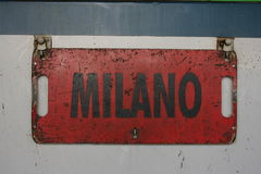 milaan Stock Foto's