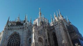 Milaan, Duomo Stock Afbeelding