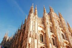 Milaan Duomo Stock Foto's
