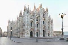Milaan Duomo Stock Foto