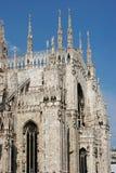 Milaan Duomo Stock Afbeelding