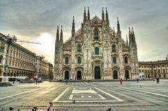 Milaan Duomo, Italië Royalty-vrije Stock Foto