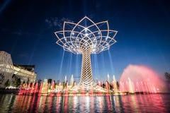 Milaan Expo Stock Afbeeldingen