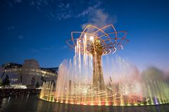 Milaan Expo Royalty-vrije Stock Afbeelding