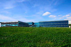 Milaan, Italië, 29 april 2014: Collectieve headquart van MICROSOFT ITALIË Royalty-vrije Stock Afbeelding
