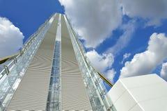 Milaan, Italië, de nieuwe wolkenkrabber van Citylife Stock Foto