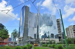 Milaan, Italië, de nieuwe wolkenkrabber van Porta Nuova Stock Afbeeldingen