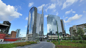Milaan, Italië, de nieuwe wolkenkrabber van Porta Nuova Royalty-vrije Stock Fotografie