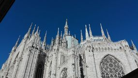 Milaan, Italië Duomo Stock Foto's