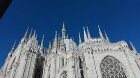Milaan, Italië Duomo Royalty-vrije Stock Afbeelding