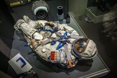 MILAAN, ITALIË - JUNI 9, 2016: astronaut spacesuit bij de Wetenschap Royalty-vrije Stock Foto