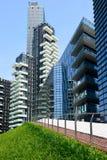 Milaan, Italië 06 juni 2014: het nieuwe district van Porta Nuova, Milan Italy June 0 Royalty-vrije Stock Afbeelding