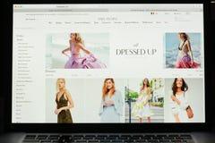 Milaan, Italië - Mei 7, 2017: De vrije homepage van de Mensenwebsite Het is a Royalty-vrije Stock Afbeeldingen