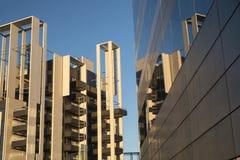 Milaan Italië moderne gebouwen op Portello-gebied Royalty-vrije Stock Afbeelding