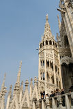 MILAAN, ITALY/EUROPE - FBRUARY 23: Detail van de horizon van stock fotografie