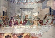 Milaan - laatste super van Christus stock afbeeldingen