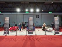 Milaan, Lombardije Italië - 23 November, 2018 - Porsche-auto's bij de uitgave die van Autoclassica worden tentoongesteld Milaan 2 stock fotografie