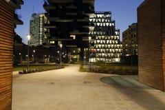 Milaan, Milaan, de nieuwe stadshorizon Royalty-vrije Stock Fotografie