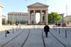 Milaan, Milaan, expo2015 de ticinese deur Royalty-vrije Stock Foto's