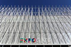 Milaan, Milaan expogate Stock Foto's