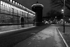 Milaan, Milaan, kasteel vierkante mening Royalty-vrije Stock Fotografie