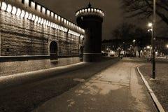 Milaan, Milaan, mening van het kasteel Royalty-vrije Stock Foto's