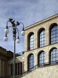 Milaan, Museum van de xx eeuw stock afbeeldingen