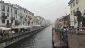 Milaan, Naviglio Royalty-vrije Stock Afbeelding