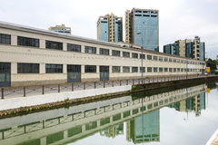 Milaan, Naviglio Grande Stock Foto