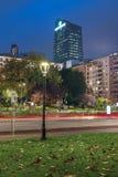 Milaan is opnieuw gekleed met de de herfstkleuren stock foto's