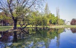 Milaan, Parco Sempione Stock Afbeeldingen
