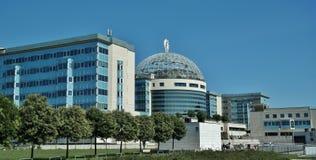 Milaan, San Raffaelo Hospital Stock Fotografie