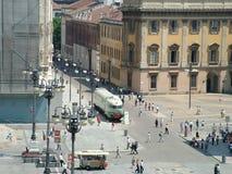 Milaan - vierkant Royalty-vrije Stock Afbeeldingen
