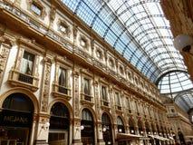 Milaan - Wapen van de Galerij Royalty-vrije Stock Fotografie