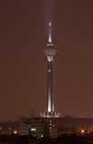 Milad Tower at night stock photo