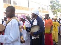 Milad un Nabbi celebration. Muslims perform a procession to mark Milad un Nabbi celebrations in Africa Nairobi Kenya Stock Photo
