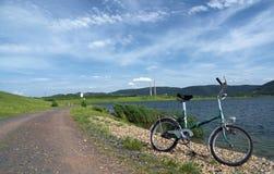 Milada lake near Usti nad Labem city royalty free stock images