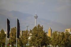 Miladtoren Téhran stock afbeeldingen