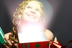 Milagre do Natal Imagem de Stock