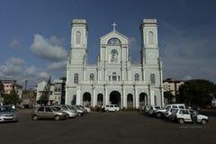 Milagres Church view from outside. Mangalore, Karnataka, India. Royalty Free Stock Image