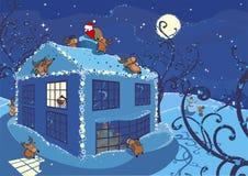 Milagro de la Navidad Fotos de archivo libres de regalías
