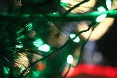 Milagro de las luces mágicas Imagen de archivo libre de regalías