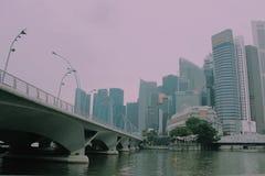 Milagro de Singapur Imágenes de archivo libres de regalías
